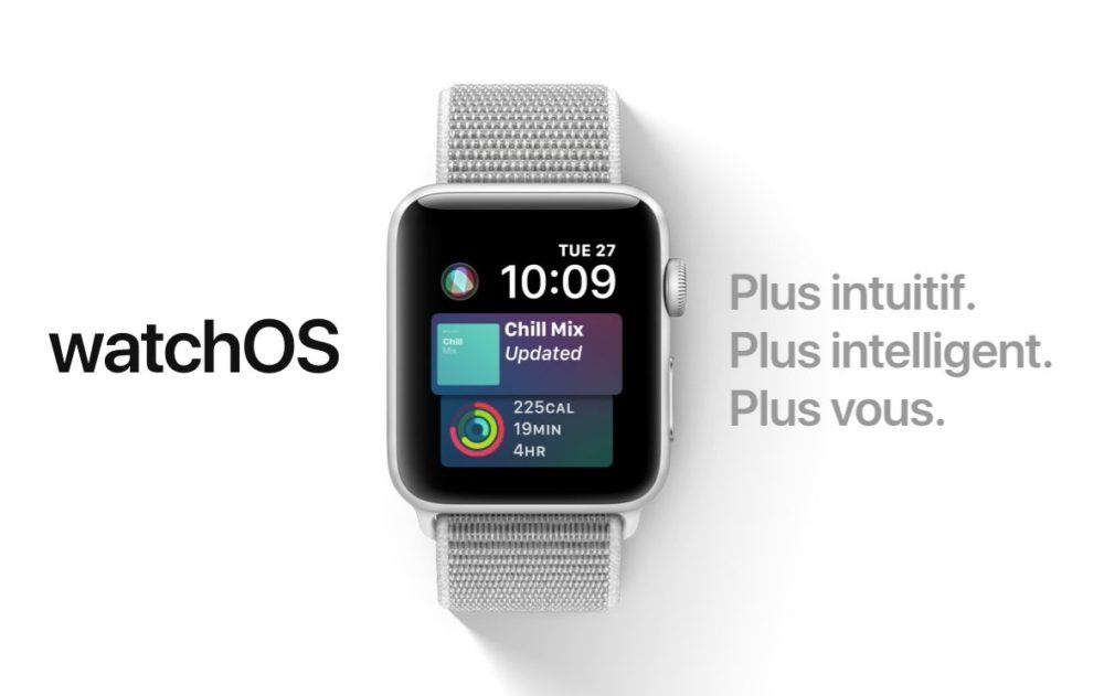 watchOS 5 Apple Watch 1000x631 watchOS 5.0.1 est disponible pour porter correction à certains bugs