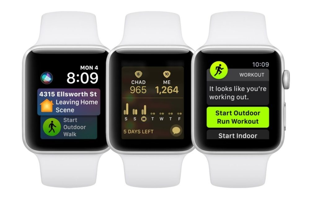 watchos 5 apple watch 1000x641 La version finale de watchOS 5 est disponible pour lApple Watch