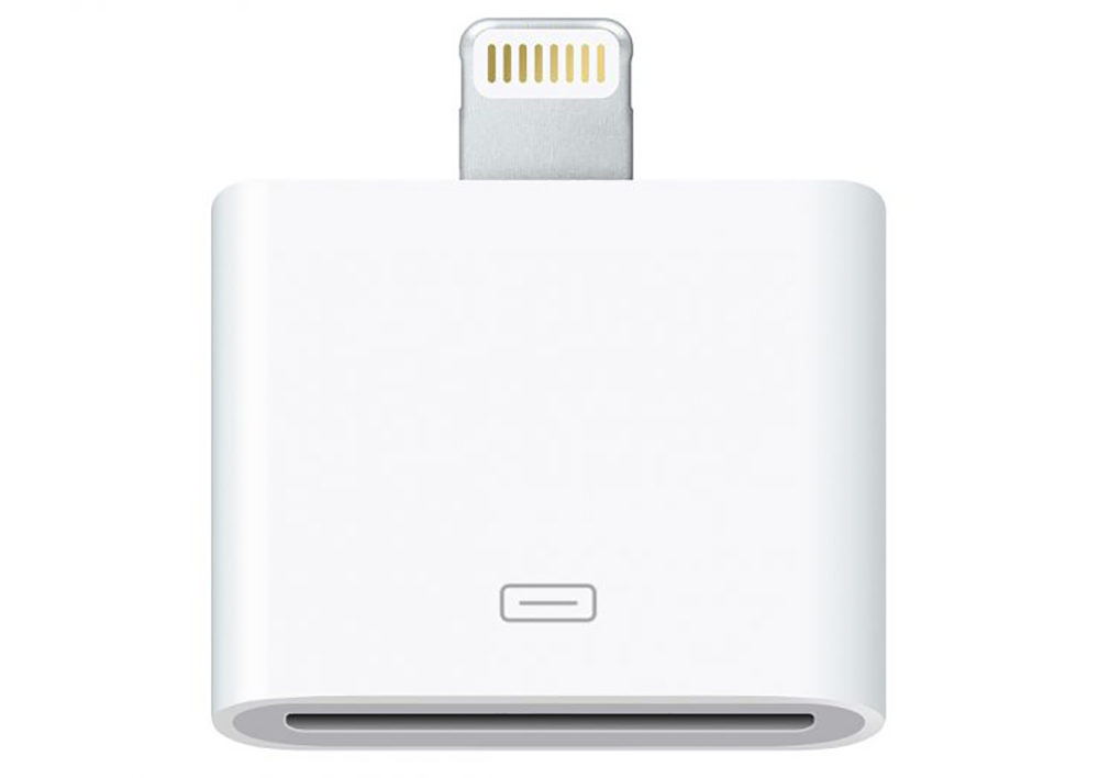 Adaptateur Lightning vers 30 broches 1000x708 Apple retire de la vente l'adaptateur 30 broches vers Lightning