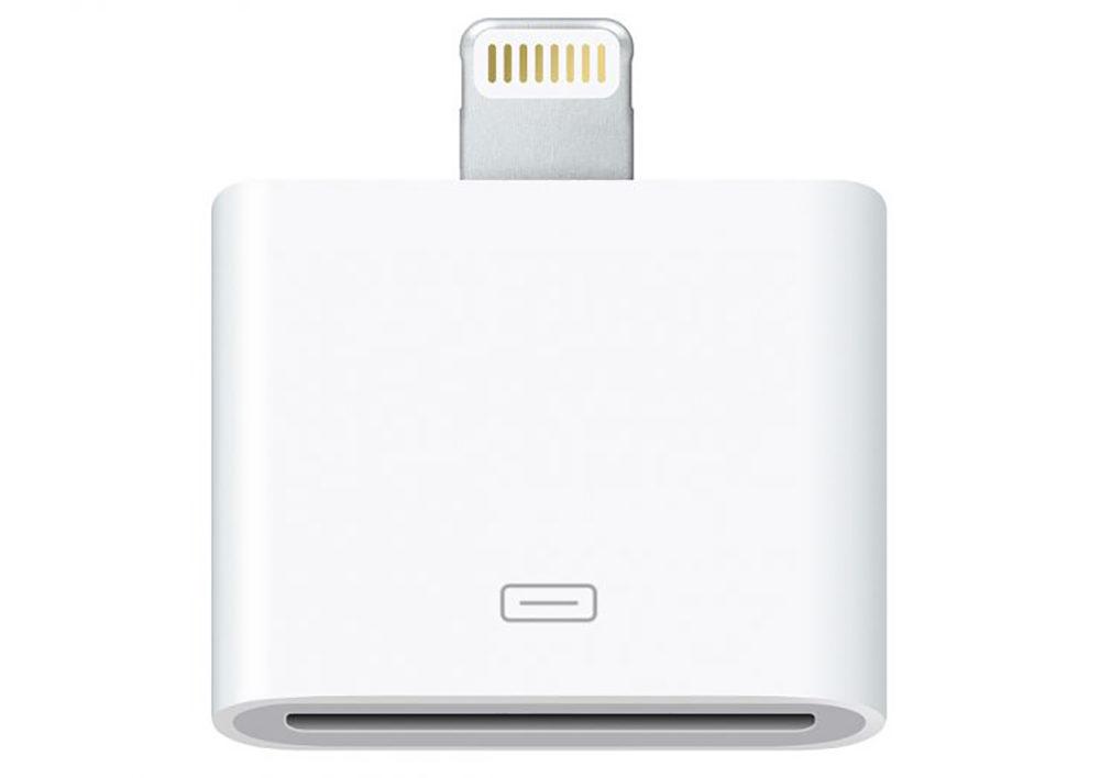 Adaptateur Lightning vers 30 broches 1000x708 Apple retire de la vente l'adaptateur 30 broches vers Lightning