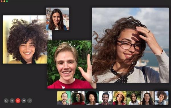 Appels Groupe FaceTime 1 Voici la liste des iPhone et iPad compatibles avec les visioconférences FaceTime de groupe