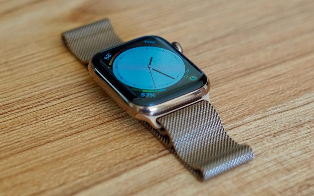 Apple Watch Series 4 Bracelet 1000x626 watchOS 5.1 version finale est disponible pour lApple Watch