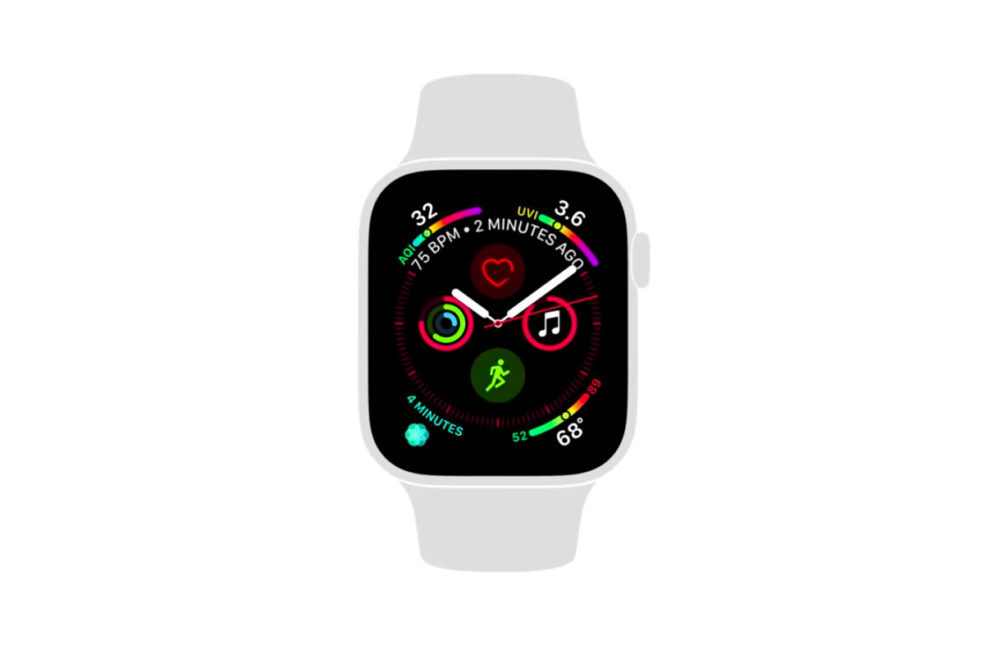 Apple Watch Series 4 Pub YouTube 1000x650 Apple partage 2 tutoriels vidéos pour lApple Watch Series 4
