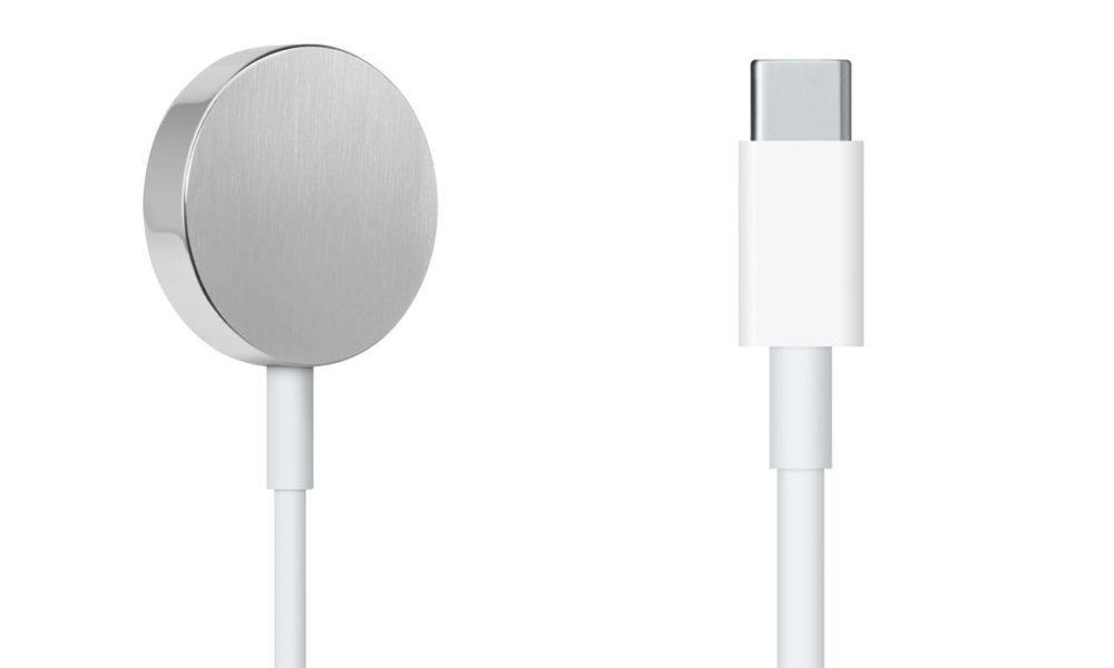 Chargeur Apple Watch USB C 1000x600 Apple propose à la vente un câble Apple Watch USB C