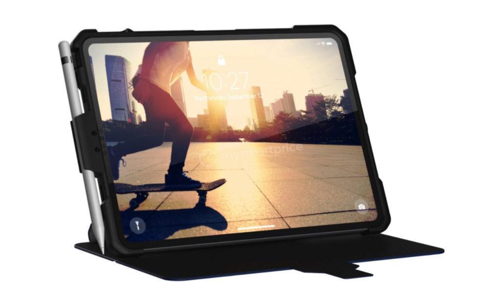 UAG Coque iPad 1000x626 Le design de liPad Pro de 2018 découvert grâce une coque de protection ?