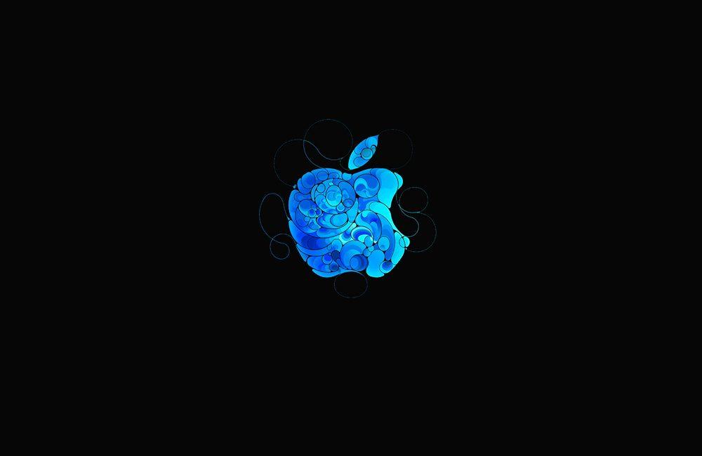 fonds apple noirs Fonds décran noirs avec le logo Apple en très haute résolution