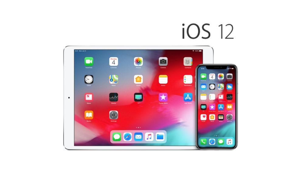iOS 12 iPhone iPad 1 copie 1000x632 Apple cesse de signer iOS 12.0 : les mises à jour et les restaurations sont bloquées