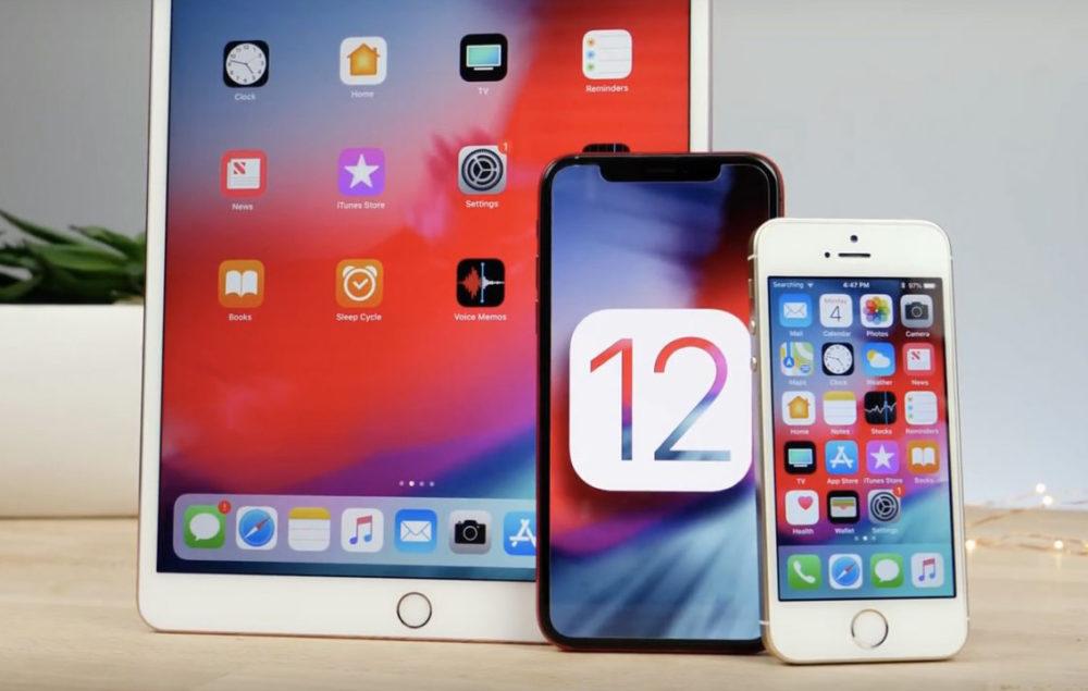 iOS 12 iPhone iPad 1000x635 iOS 12.4 est disponible en version finale sur iPhone, iPad et iPod touch