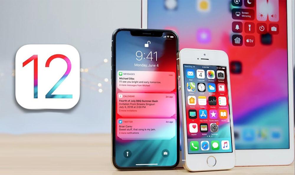 iOS 12 iPhone iPad 2 1000x593 iOS 12.1 bêta 5 est disponible pour les appareils iOS compatibles