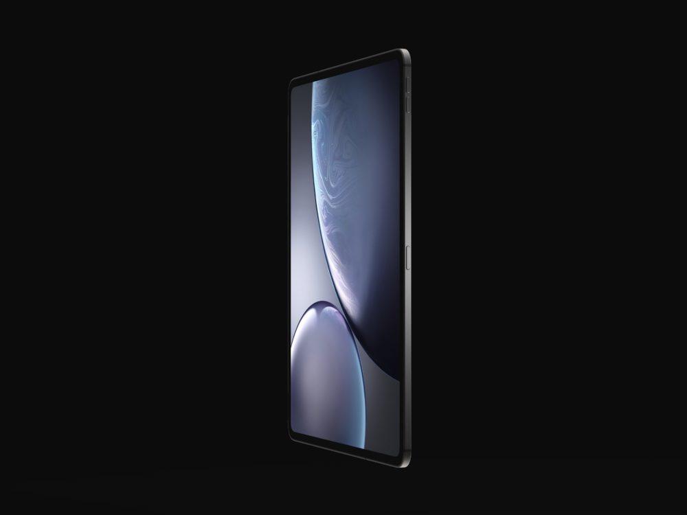 iPad Design Final 6 1000x750 Des rendus nous montrent le design des iPad Pro de 2018