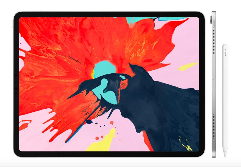 iPad Pro Octobre 2018 1000x696 iPad Pro 2018 présenté par Apple : USB C, pas de bouton Home, écran borderless