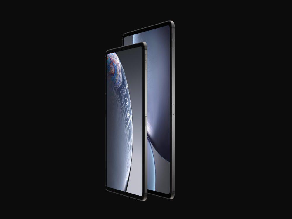 iPad final 7 1000x750 Des rendus nous montrent le design des iPad Pro de 2018