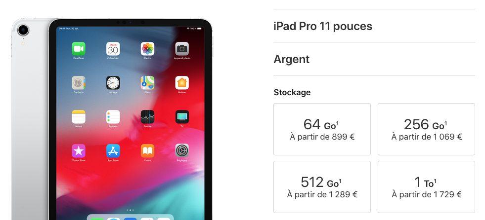 ipad pro 11 prix iPad Pro 2018 présenté par Apple : USB C, pas de bouton Home, écran borderless