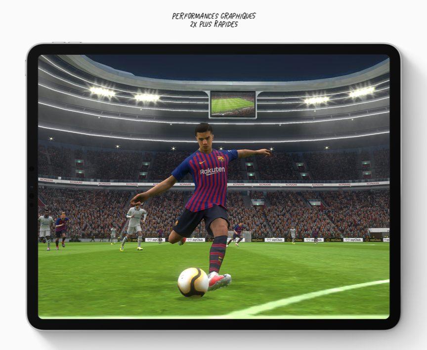 ipad pro performances graphiques iPad Pro 2018 présenté par Apple : USB C, pas de bouton Home, écran borderless