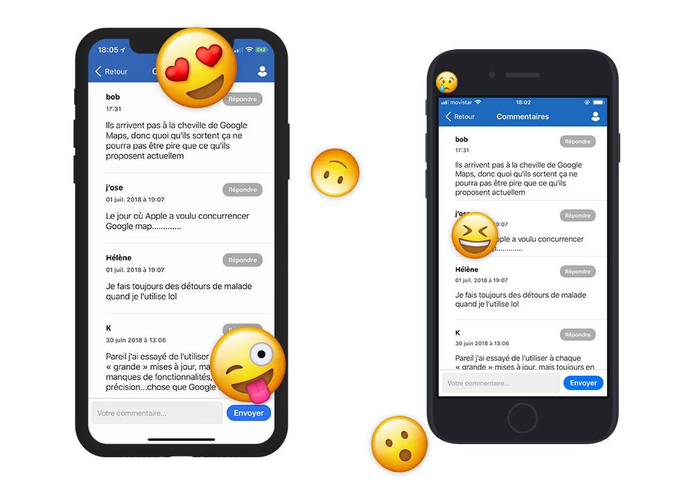 iphonex iphone8 coms App4Phone.fr 6.0 est disponible : compatible iOS 12, nouveau design et plus