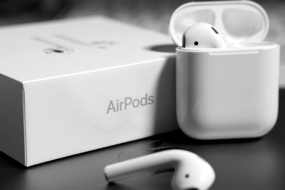 AIrPods Deballage Boite 1000x667 Le support de Dis Siri sur les AirPods 2 apparaît dans iOS 12.2 bêta 1