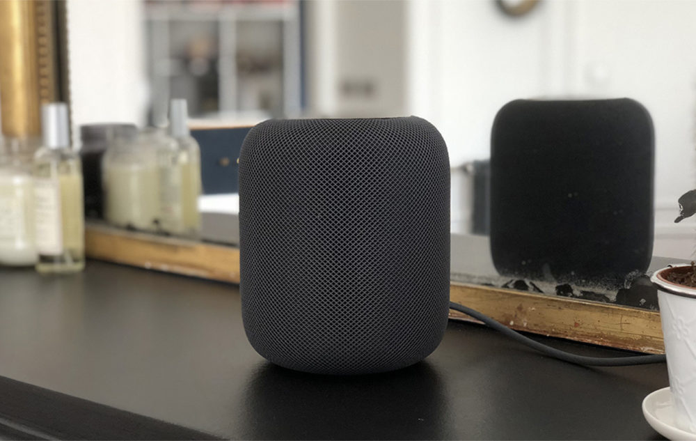 Apple HomePod Couleur Noire 1000x633 La part de marché du HomePod accroît lentement, derrière Amazon et Google