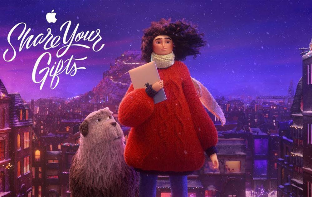 Apple Pub Noel Animee 2018 Share Your Gifts 1000x631 Apple partage une magnifique publicité de Noël animée ayant pour titre « Share Your Gifts »