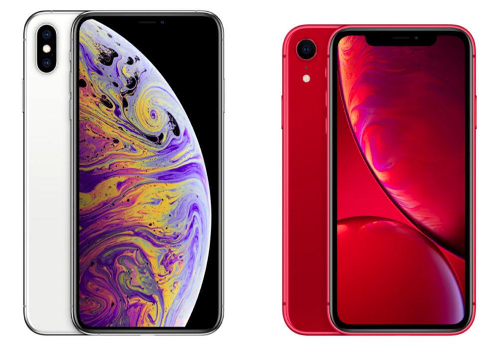 Apple iPhone XS iPhone XS Max iPhone XR 1000x691 Un lancement prochain des iPhone XS (PRODUCT)RED en Chine pour relancer les ventes ?