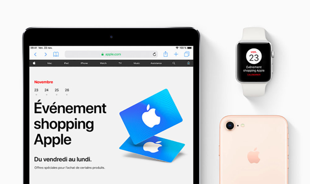 Black Friday Apple 2018 1000x593 Voici les offres dApple pour le Black Friday 2018 en France
