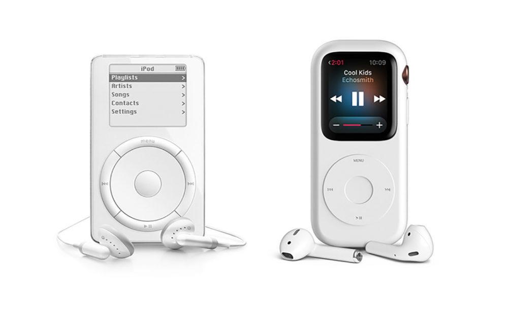 Un concept conçoit une coque qui transforme une Apple Watch en un iPod original