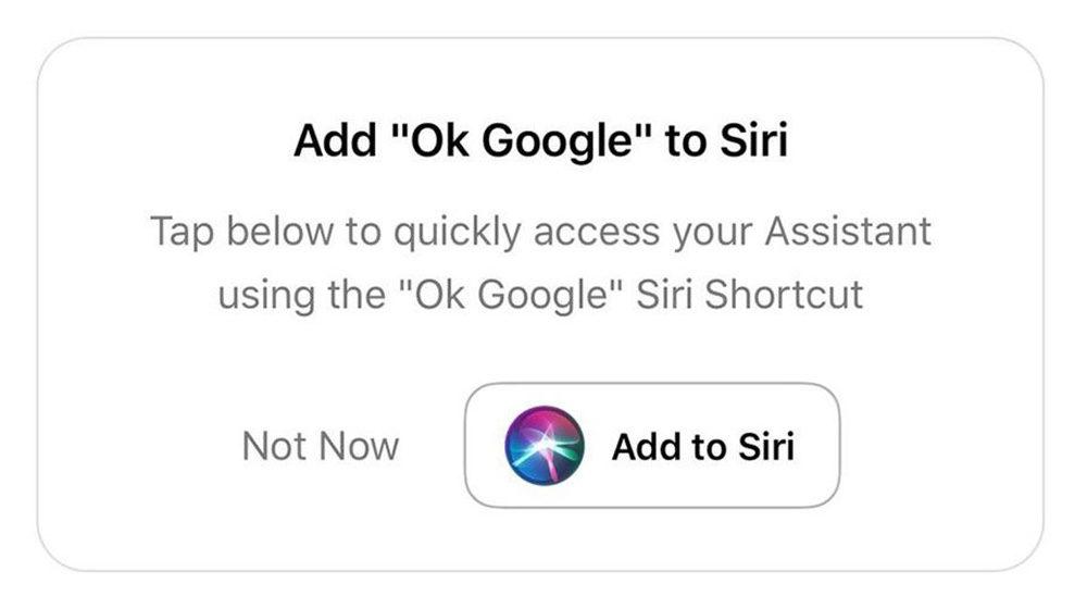 Hey Siri Google Assistant 1000x548 Il est maintenant possible de dire « Hey Siri, Ok Google » pour lancer Google Assistant sur iPhone