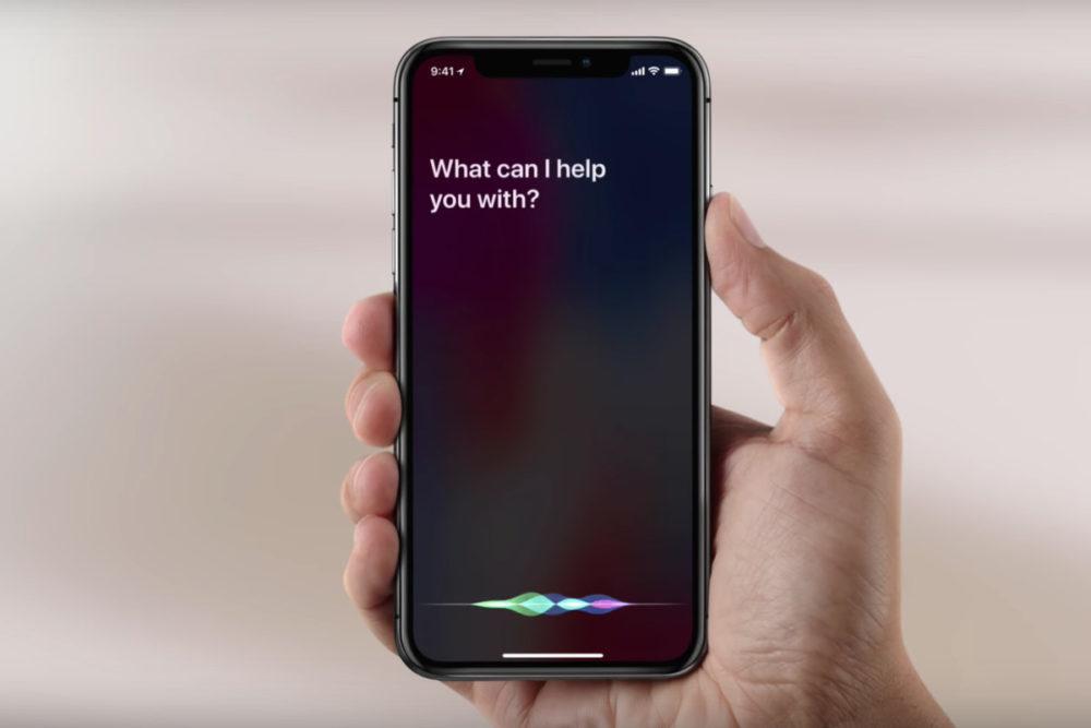Siri iPhone X 1000x667 Il est maintenant possible de dire « Hey Siri, Ok Google » pour lancer Google Assistant sur iPhone