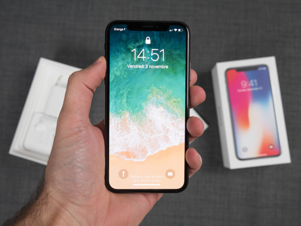 iPhone X Apple Boite 1000x750 Apple annonce un programme de réparation de l'écran des iPhone X touché par un problème tactile