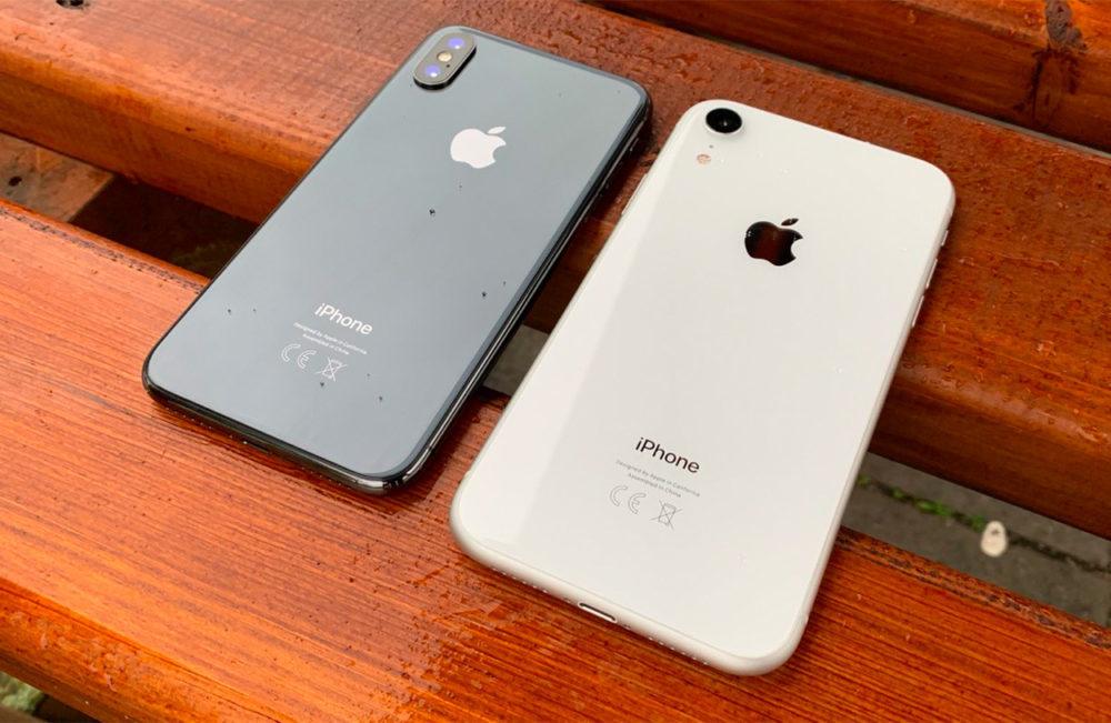 iPhone XS vs iPhone XR 1000x651 Pour contrer les faibles ventes des iPhone, un analyste propose de changer le design ou baisser le prix