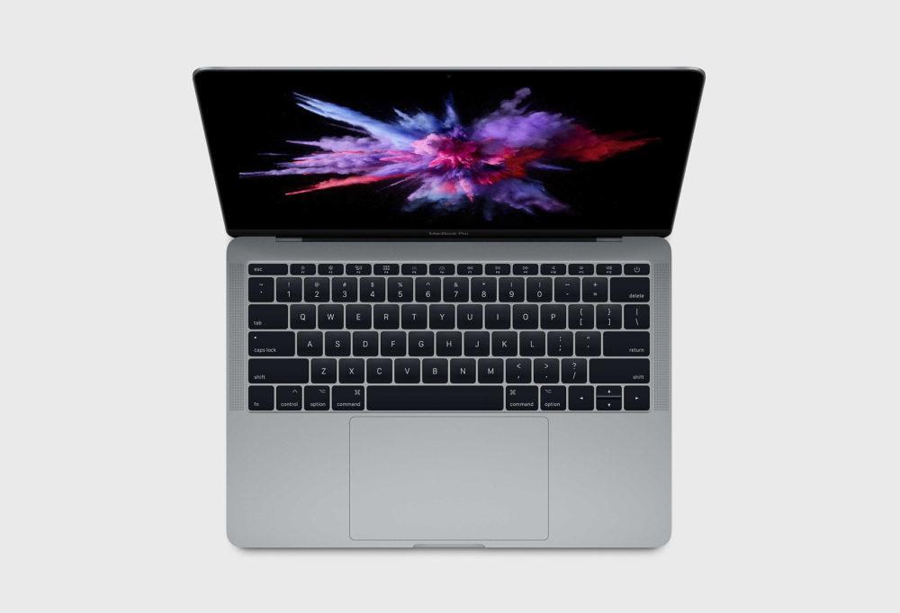 macbook pro 13 sans touch bar 1000x681 Apple met en place une réparation gratuite du SSD du MacBook Pro 13 pouces sans Touch Bar