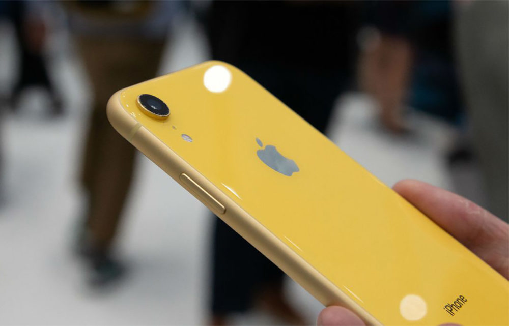 Apple Iphone XR Jaune Camera 1000x641 Le capteur photo de liPhone XR devance celui du Google Pixel 2, daprès DxOMark