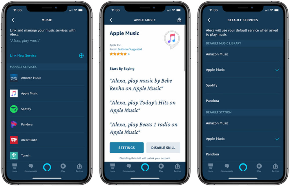 Apple Music Echo Amazon Alexa 1000x644 Apple Music est enfin disponible sur les enceintes Echo dAmazon