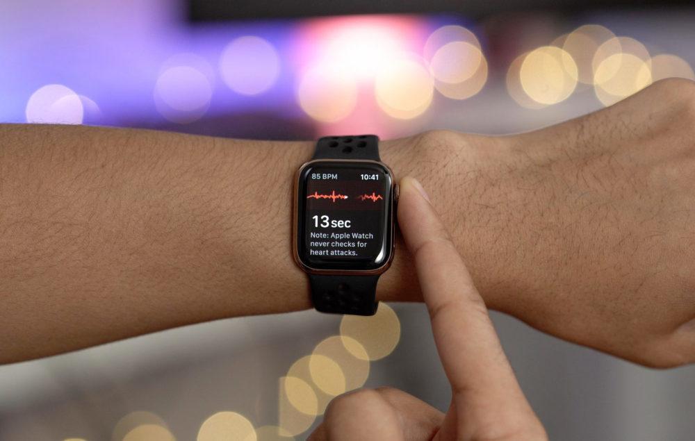 Apple Watch ECG App watchOS 5.1.2 1000x635 La version de watchOS 5.1.2 est disponible pour lApple Watch