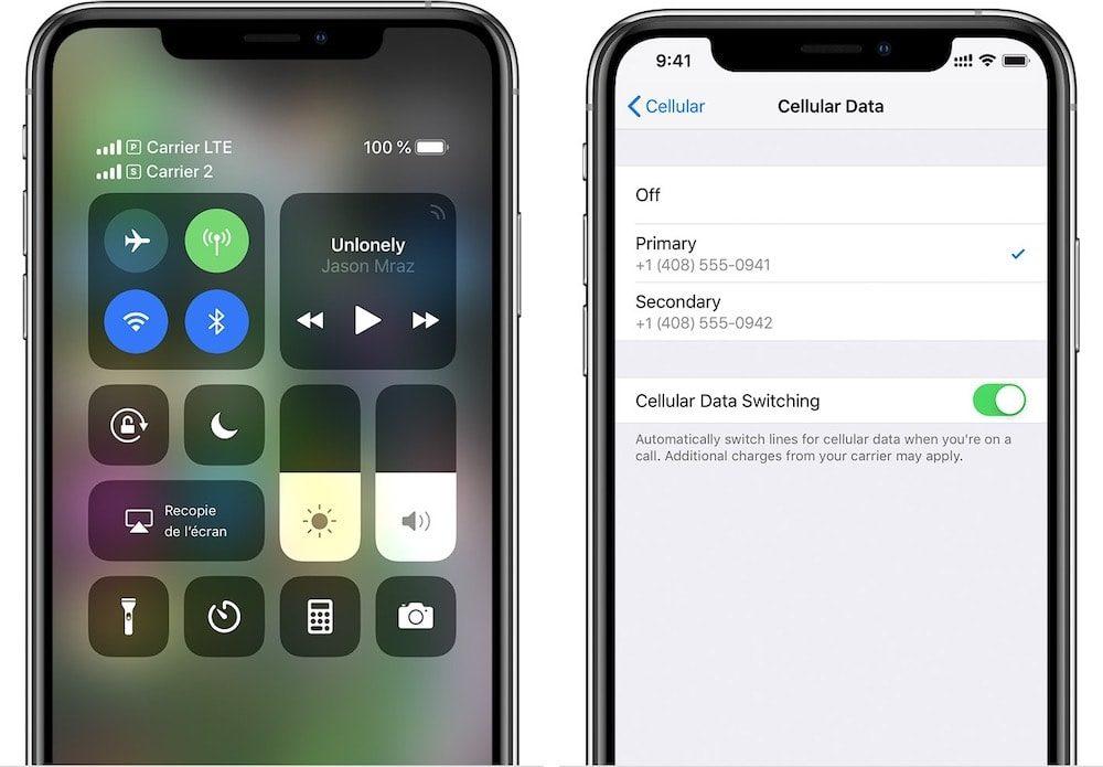 Apple iPhone XS Double SIM 1000x695 iOS 14.7 bêta 2 : certains iPhone ne peuvent plus reconnaître la carte SIM après la mise à jour