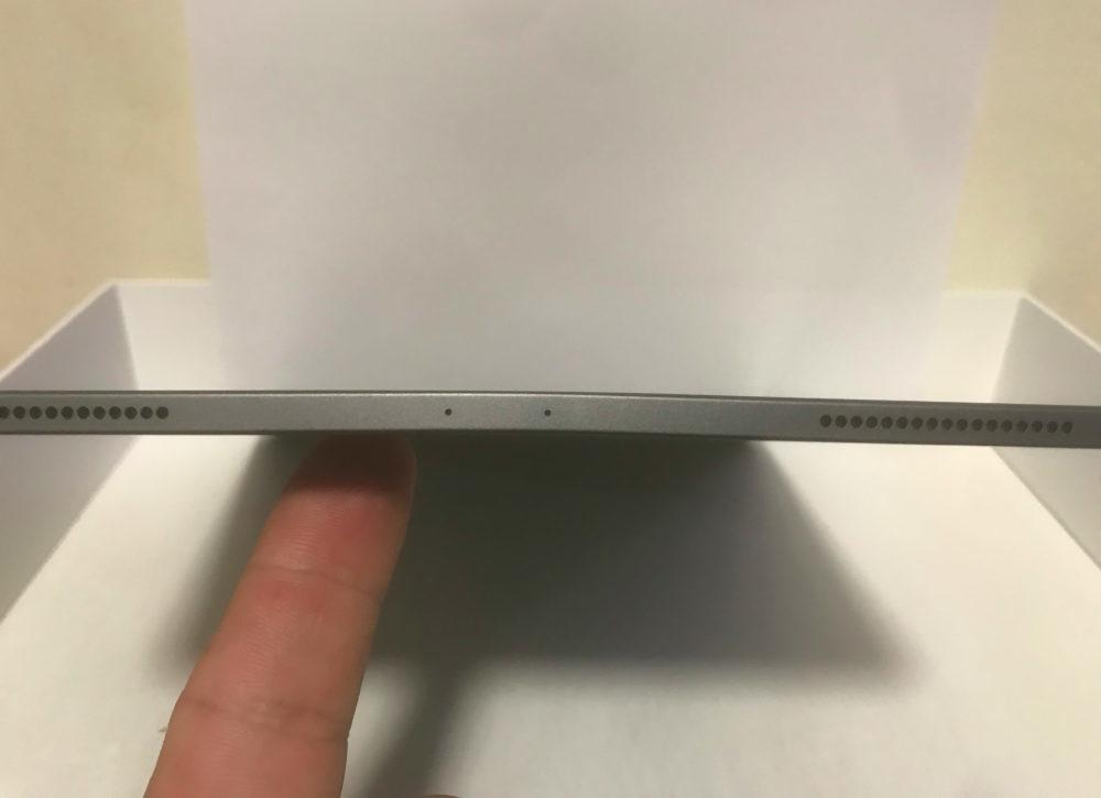 iPad Pro 2018 Pliage 1000x725 Des iPad Pro 2018 qui arrivent avec un châssis plié, Apple déclare que c'est normal