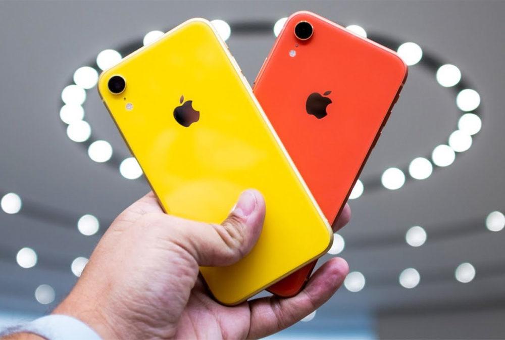 iPhone XR Rouge Jaune 1000x673 La production de liPhone XR serait réduite une fois de plus pour le premier trimestre de 2019