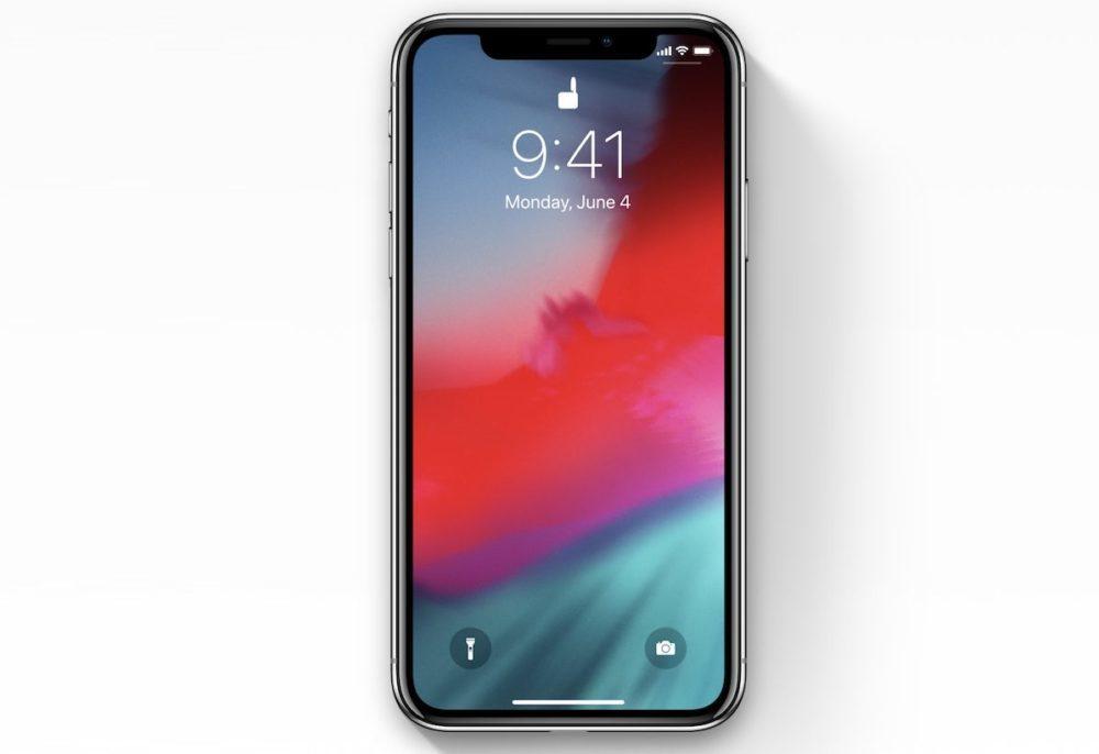 ios 12 iphone x 1000x686 iOS 12.2 bêta 1 est disponible pour iPhone, iPad et iPod touch