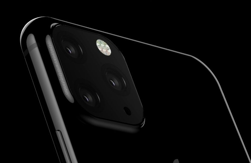 Prototype Camera iPhone 2019 1 iPhone de 2019 : un prototype montre le triple capteur photo