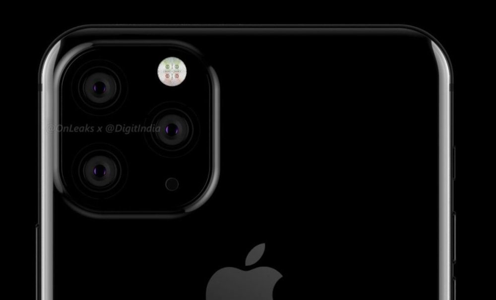 Prototype Camera iPhone 2019 1000x606 iPhone de 2019 : un prototype montre le triple capteur photo