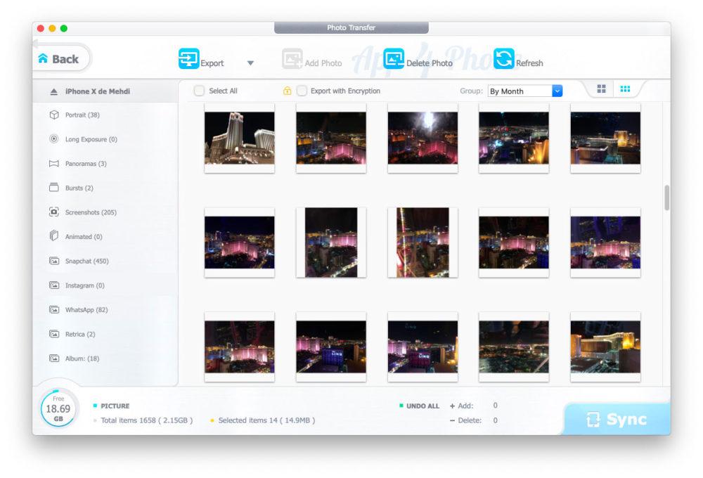ajouterphoto DearMob iPhone Manager : comment transférer des photos dun ordinateur à un iphone