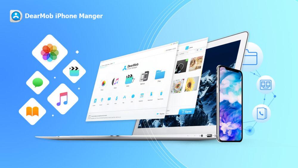 dearmob iphone manager comment transferer photos DearMob iPhone Manager : comment transférer des photos dun ordinateur à un iphone