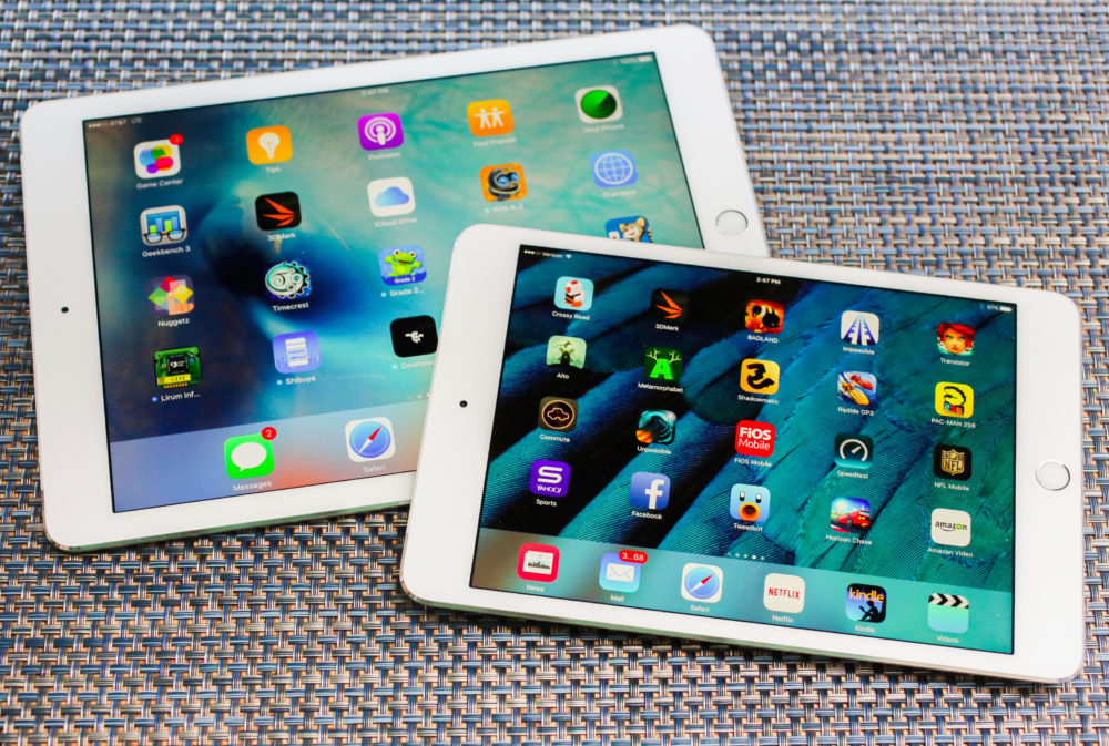 ipad mini 4 2 1000x673 Touch ID et la prise jack seraient présents sur le prochain iPad