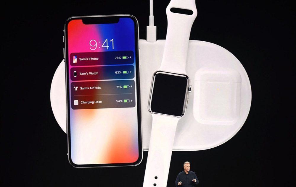AirPower Keynote Septembre 2017 1000x633 Le AirPower et les AirPods 2 pour la 1ère moitié de 2019, l'iPod 7G aura un nouveau processeur