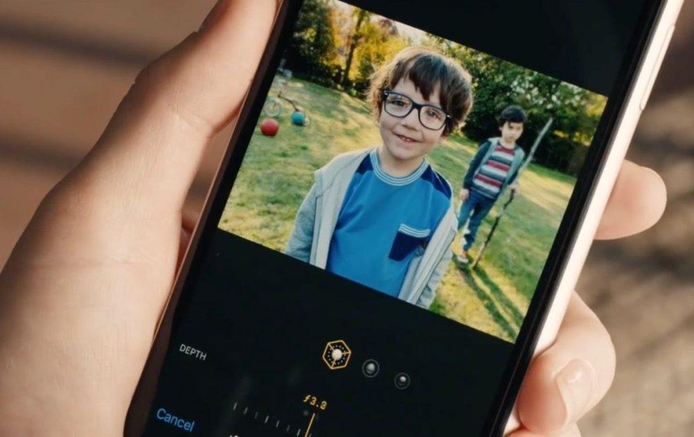 Une publicité humoristique pour liPhone XR vante le contrôle de profondeur