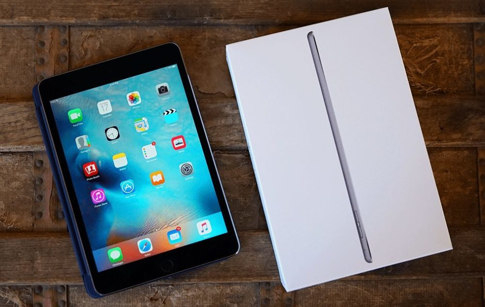 apple ipad mini 4 1000x632 iPad mini 5 : un design similaire à celui de liPad mini 4 et un prix abordable ?