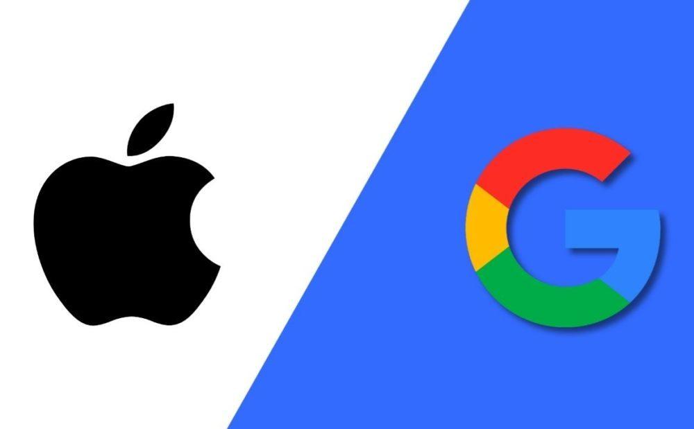 google apple logo 1 1000x619 Google va payer 15 milliards de dollars à Apple afin de rester le moteur de recherche par défaut de Safari en 2021