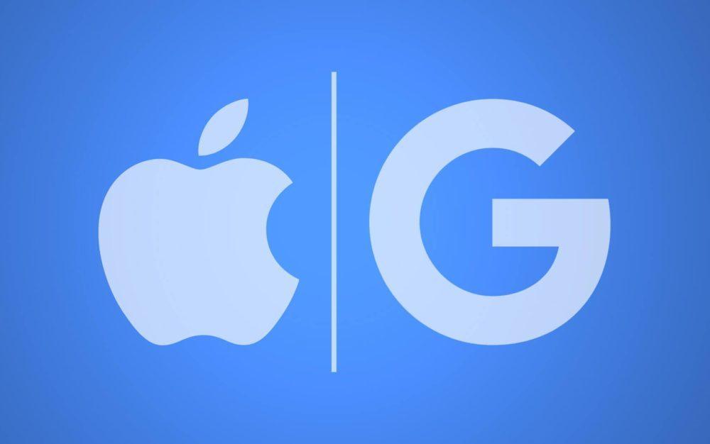 google apple logo 1000x626 Voici pourquoi Google est le moteur de recherche par défaut sur les produits Apple