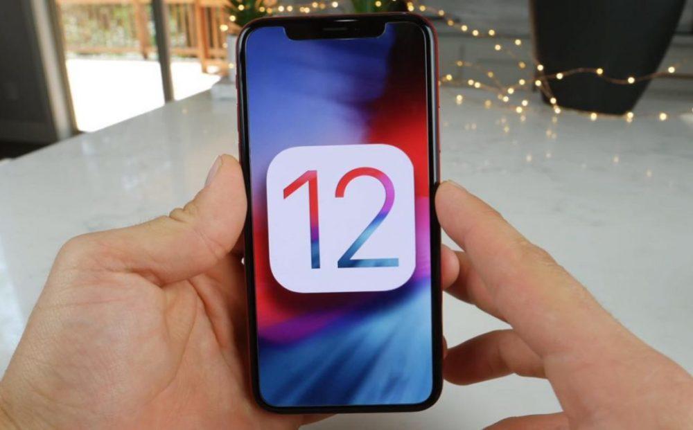 iOS 12 Logo iPhone X 1000x621 iOS 12.2 bêta 3 publique est disponible au téléchargement