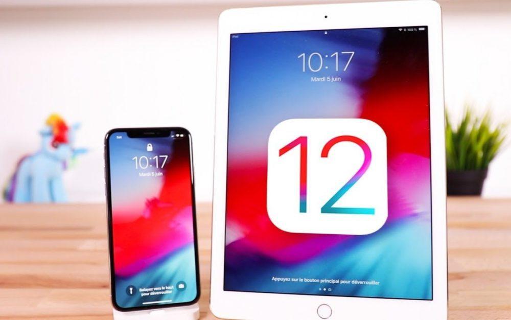 iOS 12 iPhone X iPad 1000x626 iOS 12.4.1 est disponible pour corriger une faille qui ouvrait une porte à un jailbreak