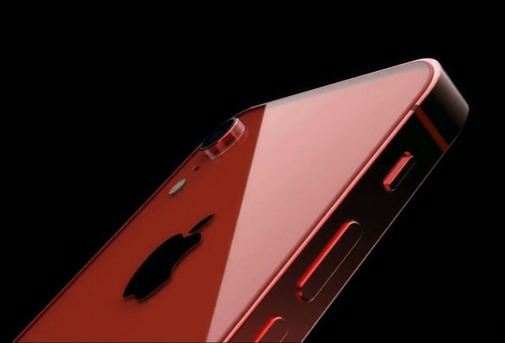 iPhone SE 2 ConceptsiPhone 1000x679 Un concept iPhone SE 2 montre un dos en verre, une petite encoche et plus